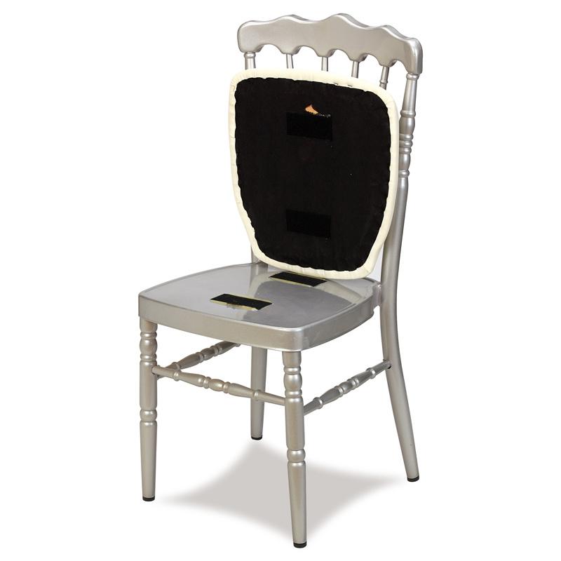 Golden Aluminum Seat Wedding Napoleon Chair