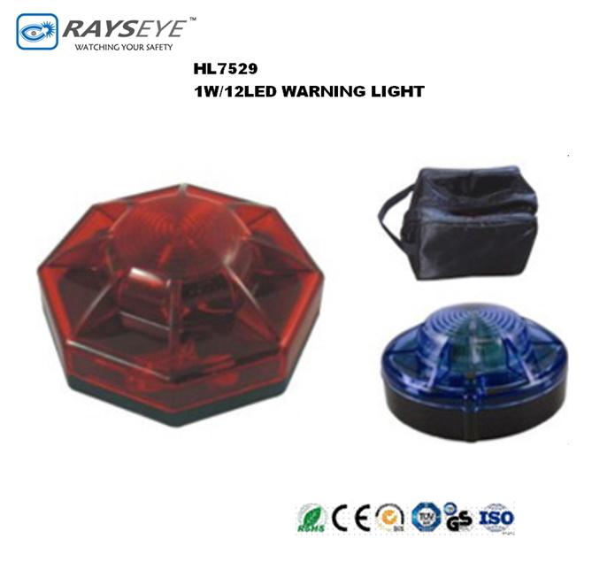 LED Warning Flash Warning Light with Magnet Base