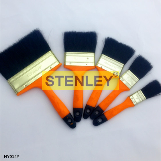 Plastic Handle Paint Brush Bristle with Plastic Wire
