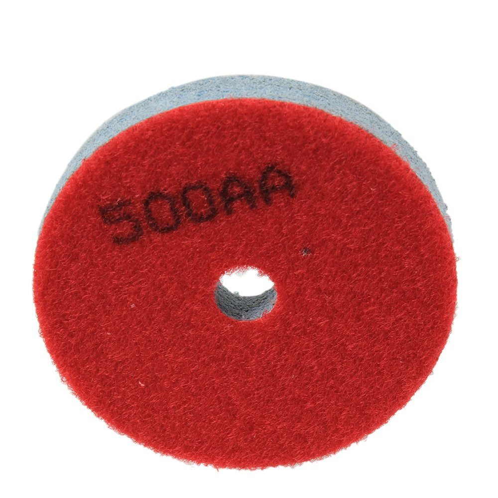 3000AA Grit Sponge Polishing Wheel Pad (Grey/Green)