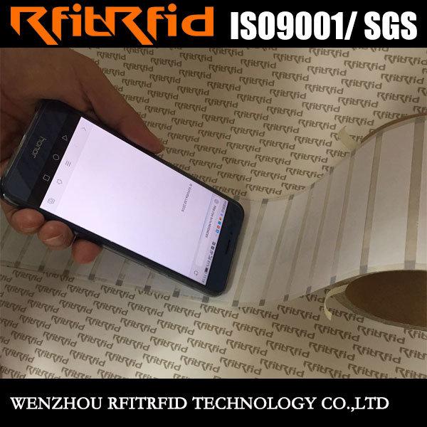 13.56MHz Printable Programmable NFC Tag Price