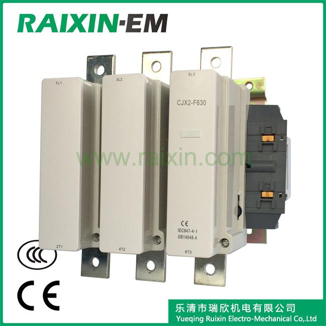 Raixin Cjx2-F630 AC Contactor 3p AC-3 380V 335kw