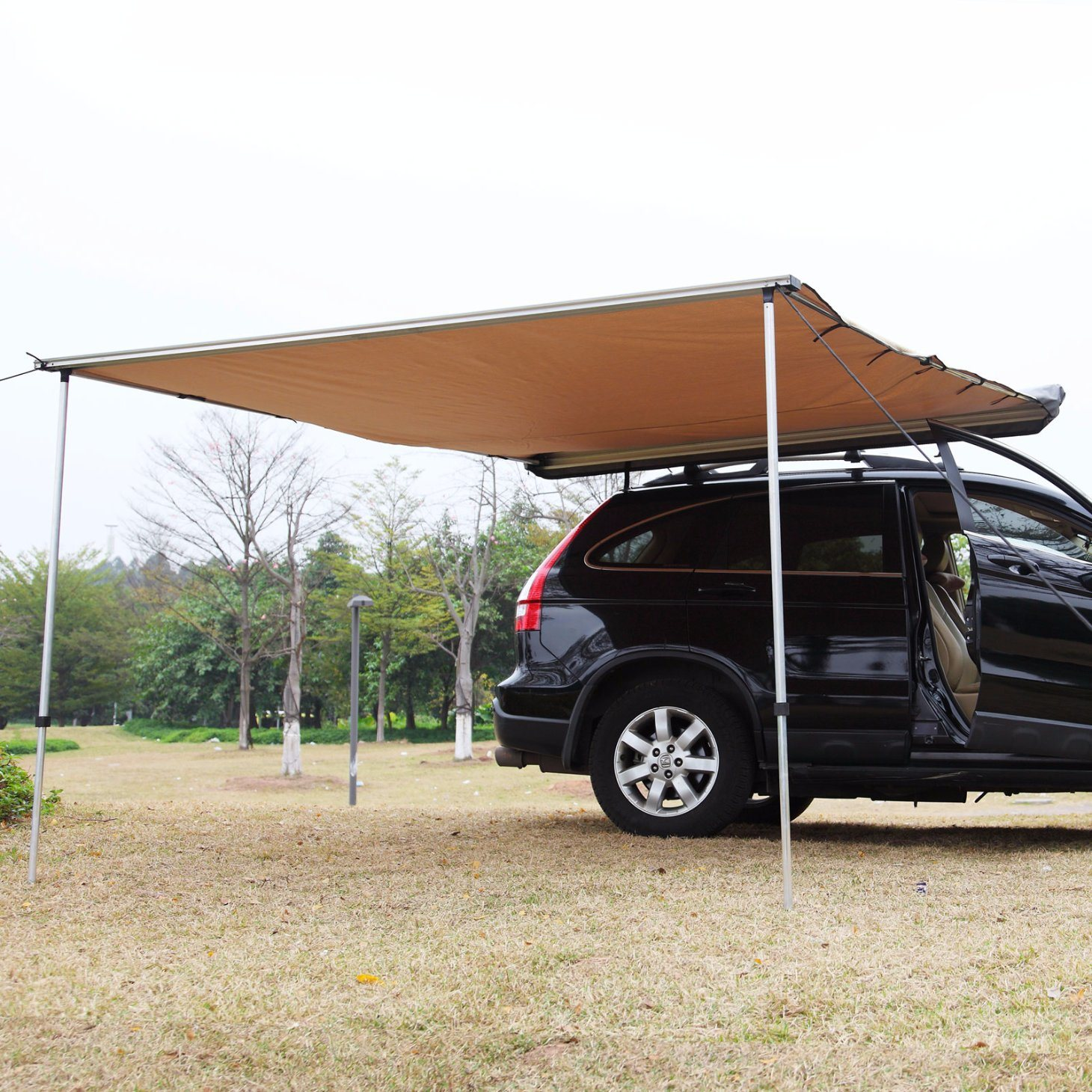 2017 New Style Canvas Car Awning Vehicle Side Awning Car Tents for Picnic