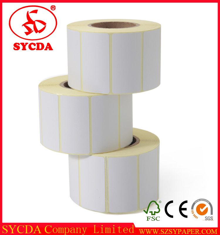Top White Thermal Self Adhesive Label Paper with High Geade Material