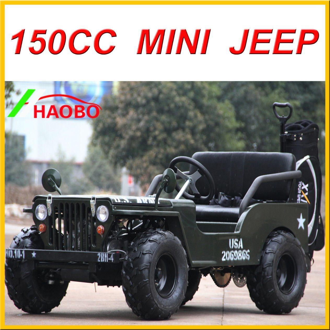 China Newest Willys Mini Jeep Lq-Jp for Sale 110cc 125cc 150cc 200cc Options