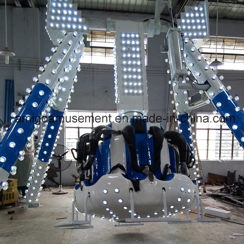 Crazy Pendulum Ride for Adult and Children Amusement Outdoor Playground