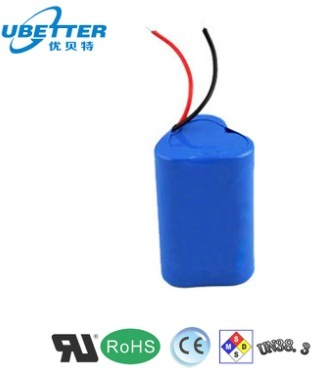 18650 12V 2200mAh Triangle Side Li-ion Battery for Fishing Tools