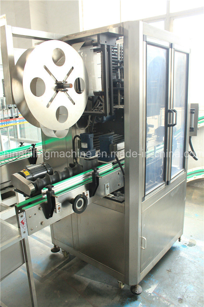 High Quality PVC Label Sleeving Thermal Shrinking Machine