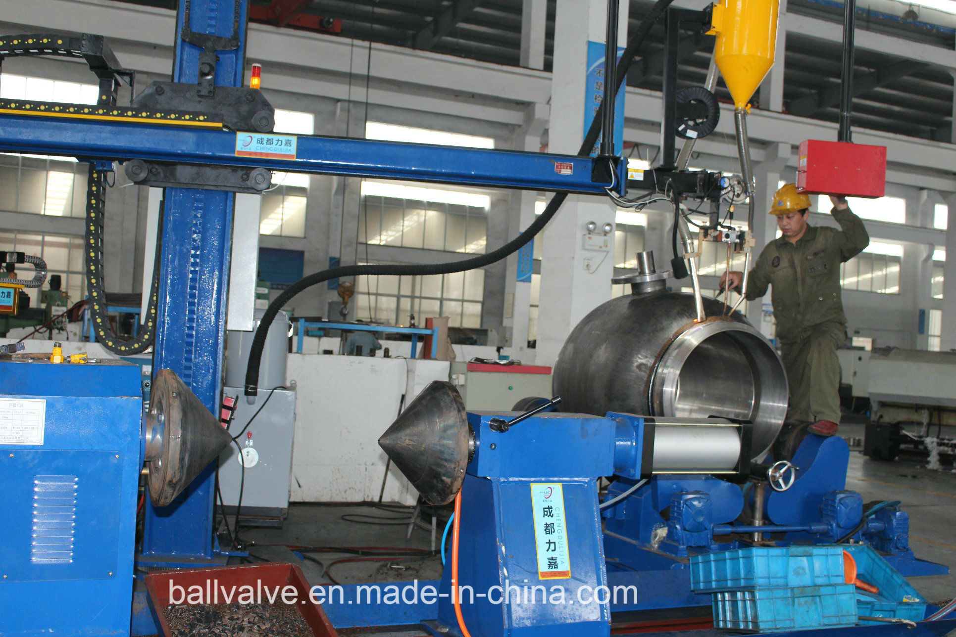 Fully Welded Forged Steel Ball Valve