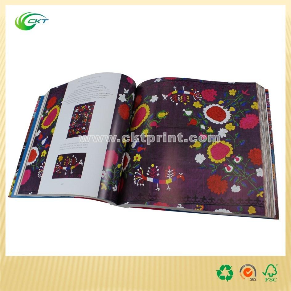 Perfect Binding Magazine Printing with UV Coated (CKT-BK-719)