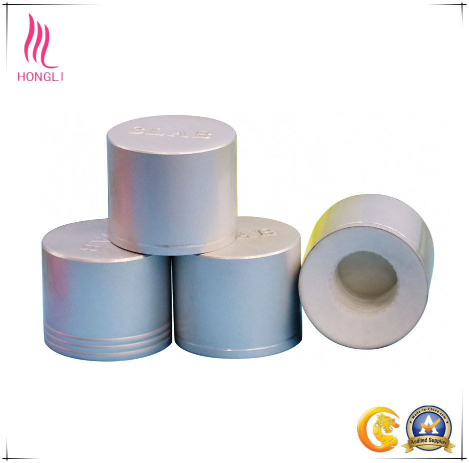 Metal Aluminum Caps with Shaped Design for White Glass Jar and Plastic Bottle