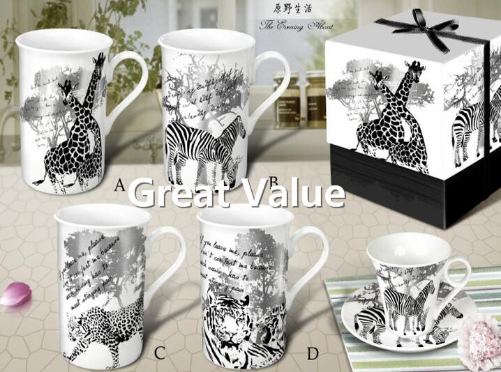 2017 New Design Ceramic Promotional Coffee Cup, Porcelain Tea Cup