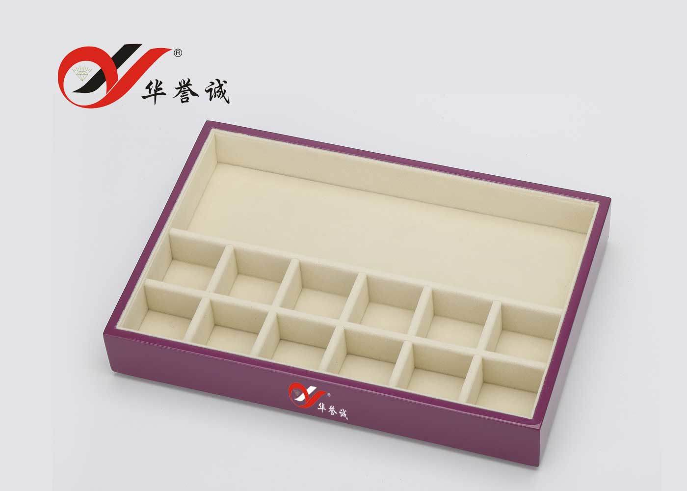 3 Layers Lacquered Wooden Jewellery Box