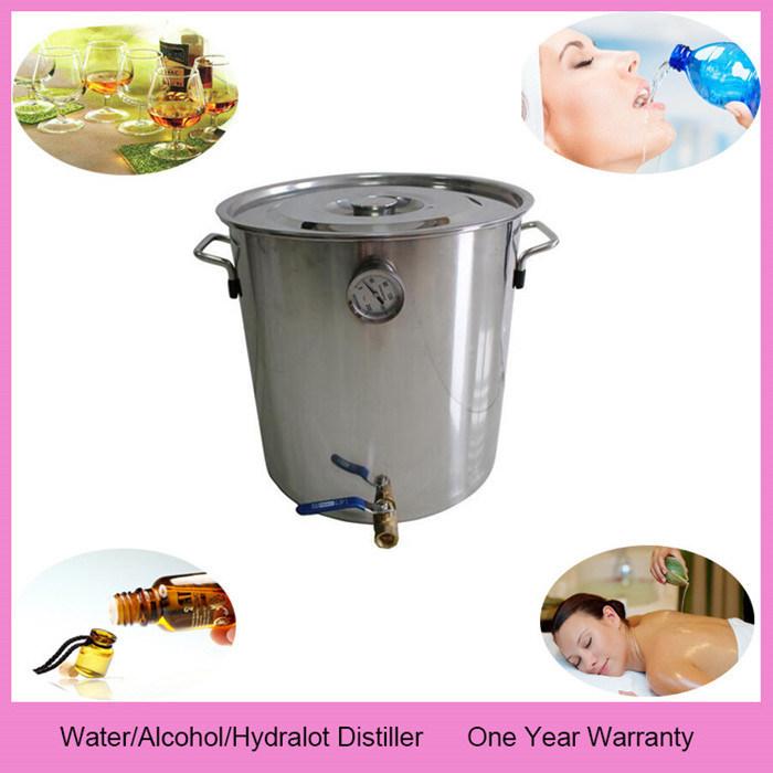 Home Wine Making Boiler 10L/3gal Stainless Steel Barrel Keg