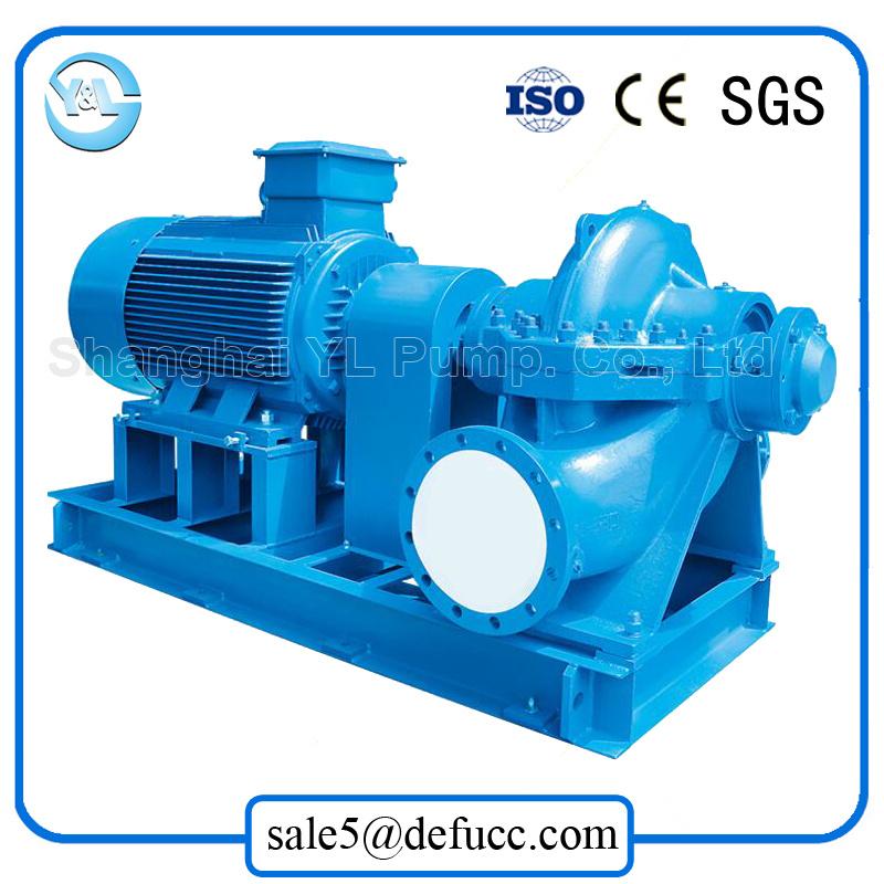 High Efficiency Motor Driven Split Case Water Pump for Waterworks