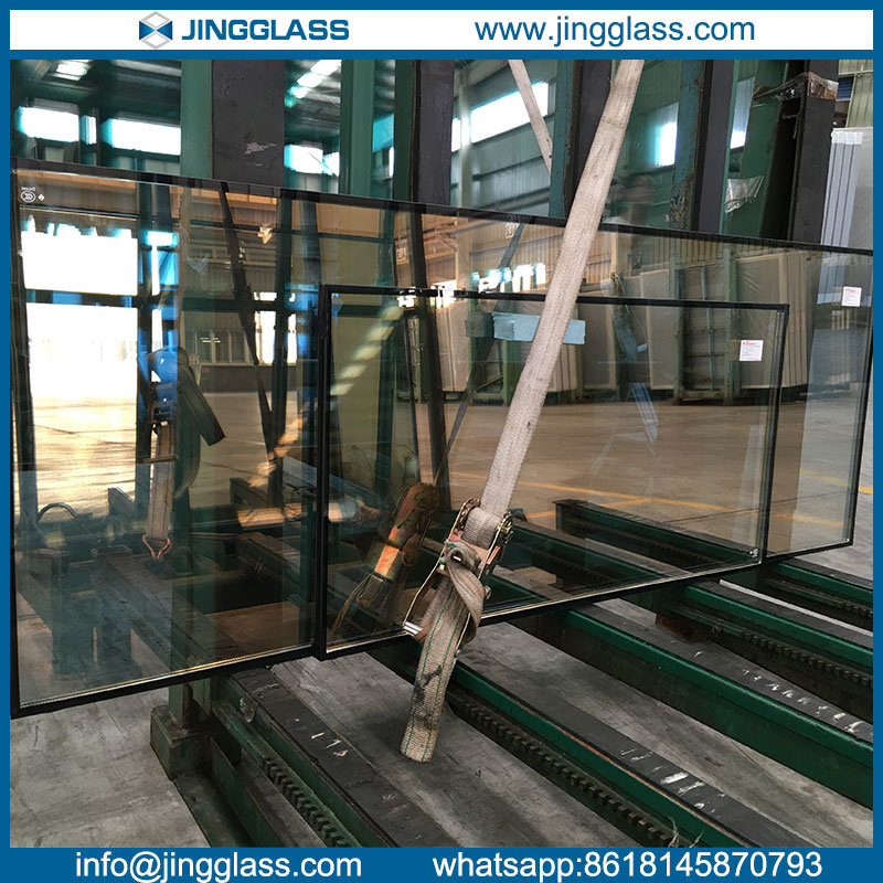 Tempered Double Glazing Window Curtain Wall Laminated Insulated Igu Glass