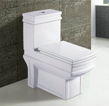 Hot Sale Bathroom Ceramic Washdown One Piece Toilet