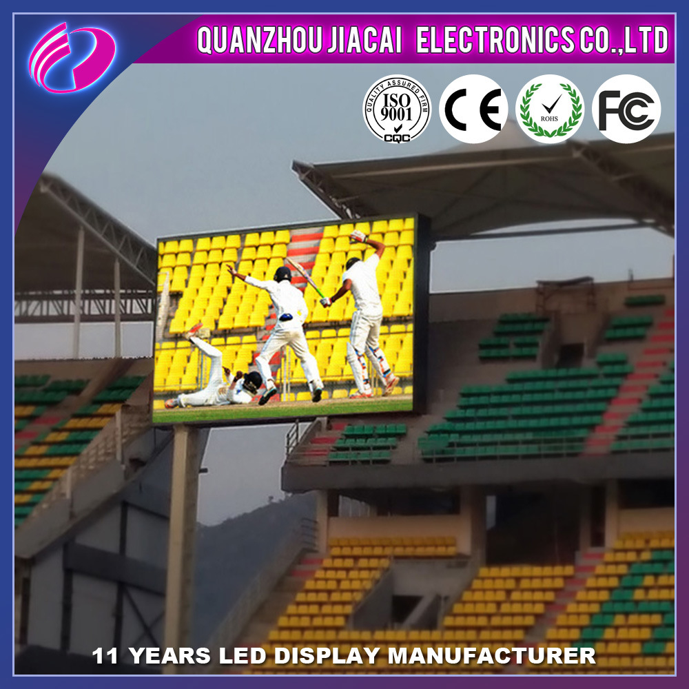 P8 Full Color Outdoor Advertise Big Curved LED TV Screen