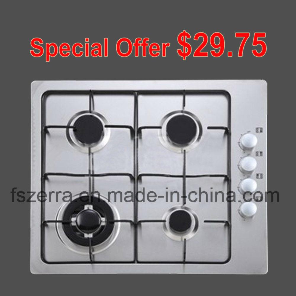 Cheap Price Built in Enamel Gas Hob Cooker Range S4503A
