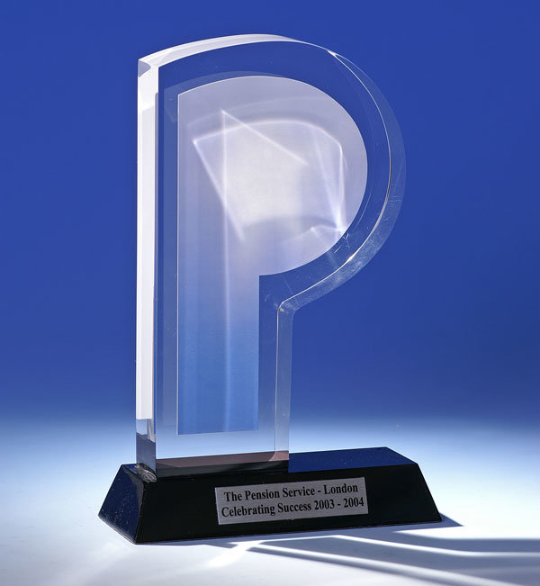 Customize New Clear Acrylic Trophy Event Award Trophy
