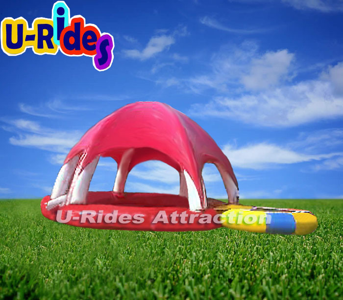 6 Leg Inflatable Swimming Pool with Tent
