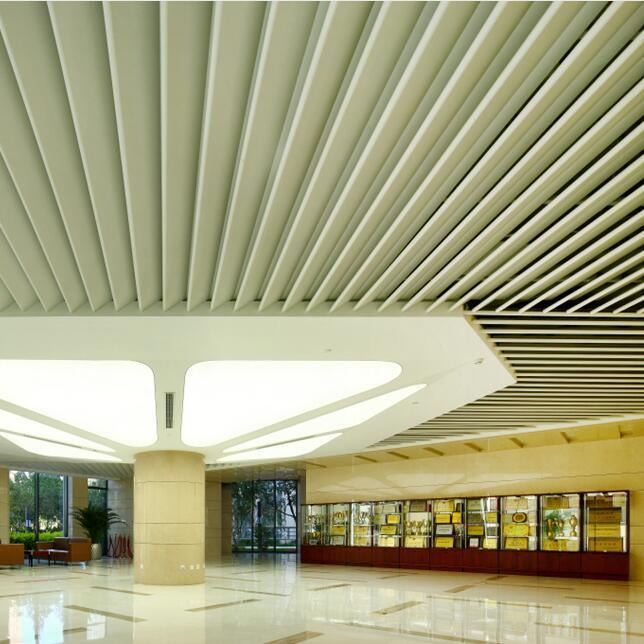 High Quality Artistic Design Metal Baffle Ceiling with Perforated