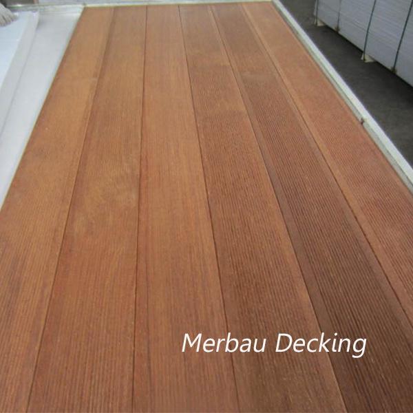 Merbau Decking Solid Wood Flooring/ Merbau Ipe Decking Wood Flooring