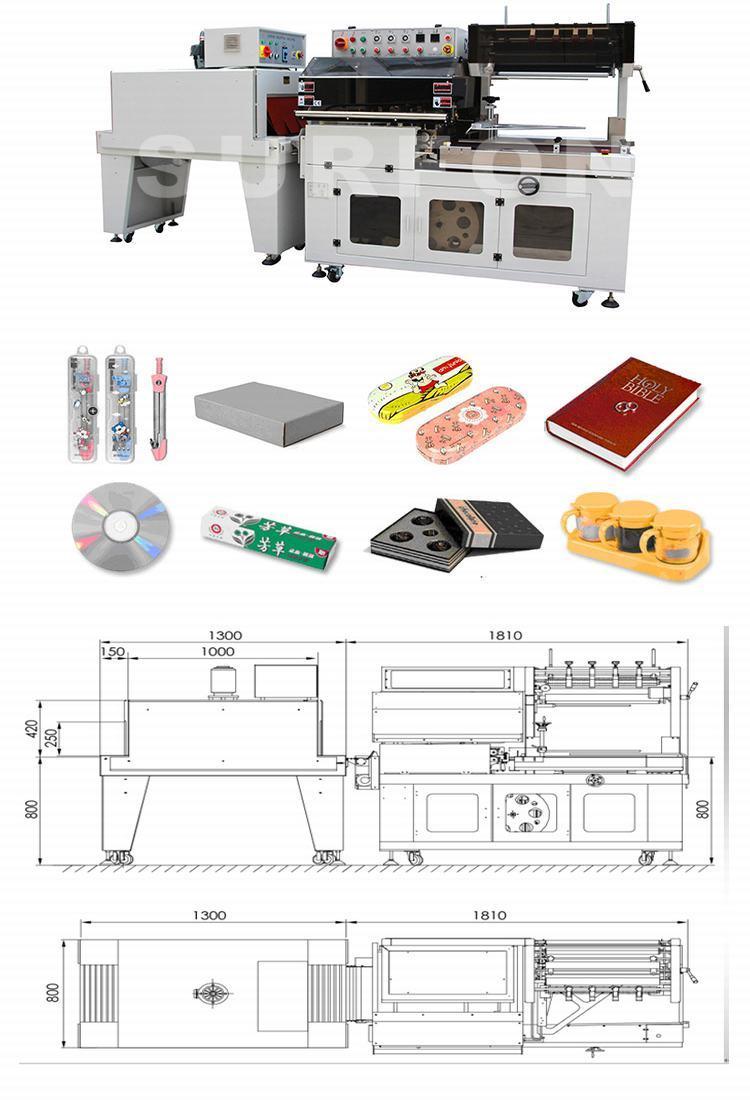 PE Shrink Film Automatic Doors Shrink Packaging Machine