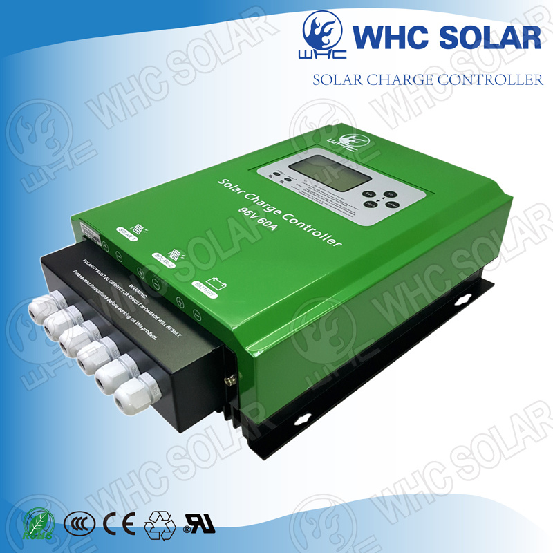 96V/192V/240V/384V 60A PWM Solar Charge Regulator