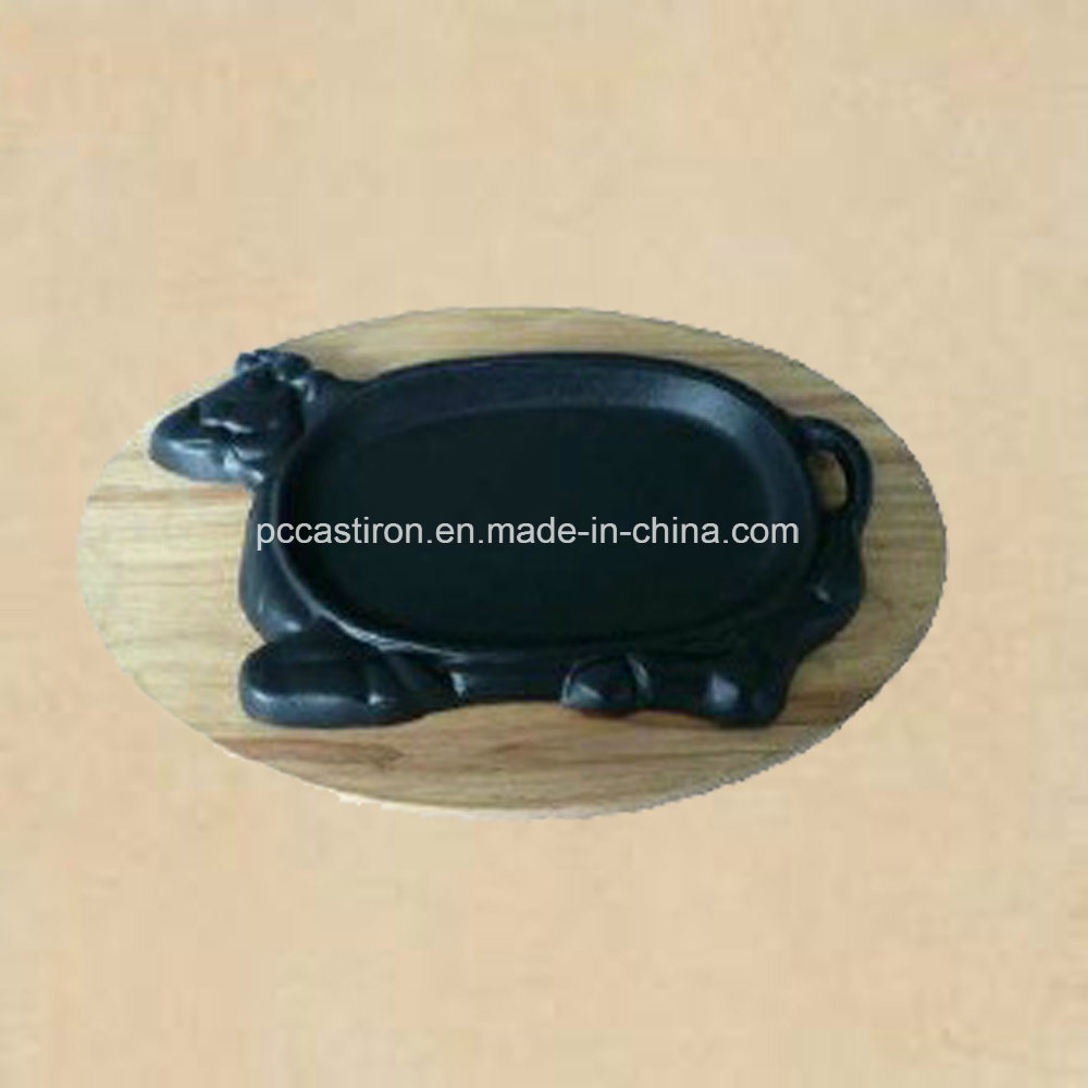Preseasoned Cast Iron Fajita Sizzler Pan Manufacturer From China