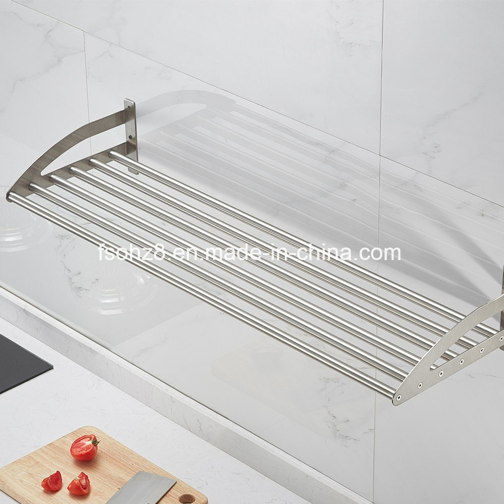 304 Stainless Steel Wall Mounted Multi-Purpose Storage Kitchen Rack