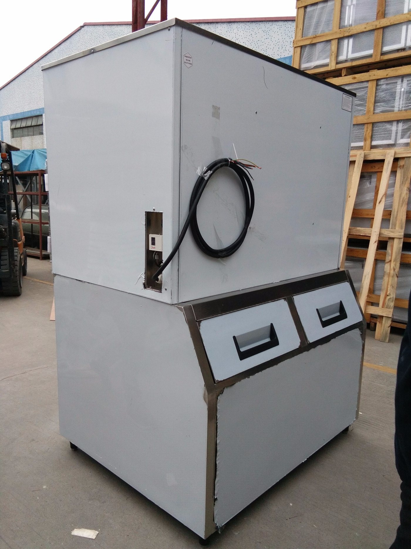 Commercial Big Capacity Large 1 Ton 1000kg Ice Cube Machine