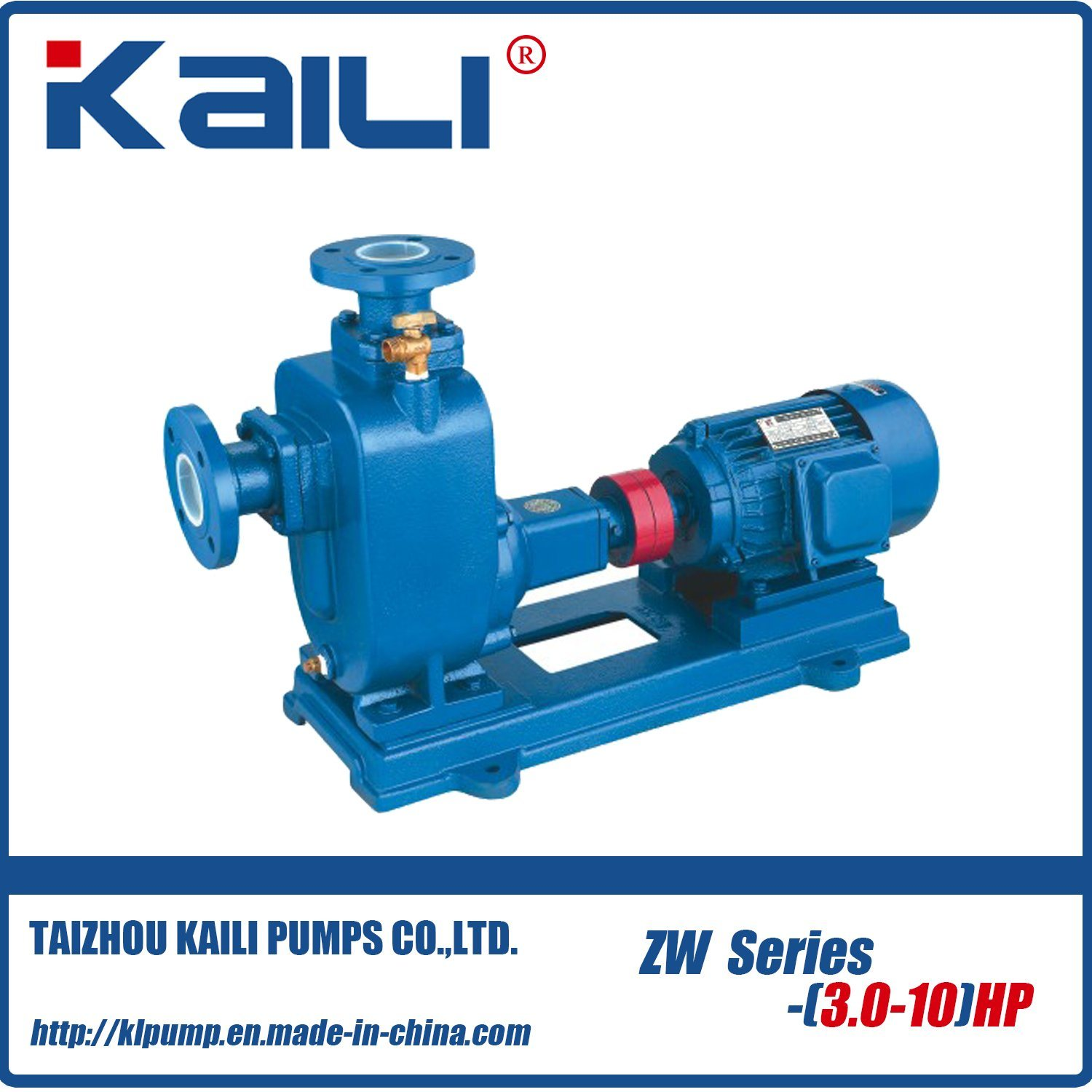 ZW Blockage-free Self-Priming Sewage Pump