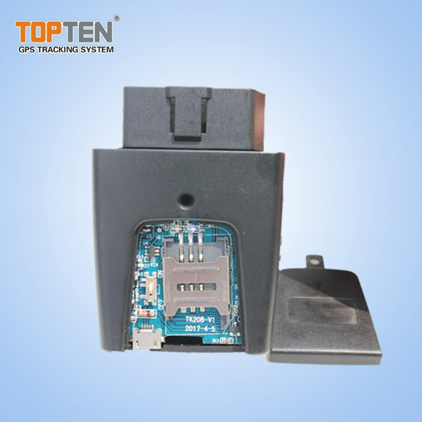 GPS Tracker OBD with Attendance Management and Power Save (TK208-KW)
