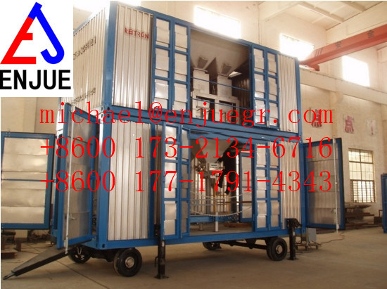 Automatic Bagging Hopper Mobile Weighting Bagging Machine Unit Grain Food Container