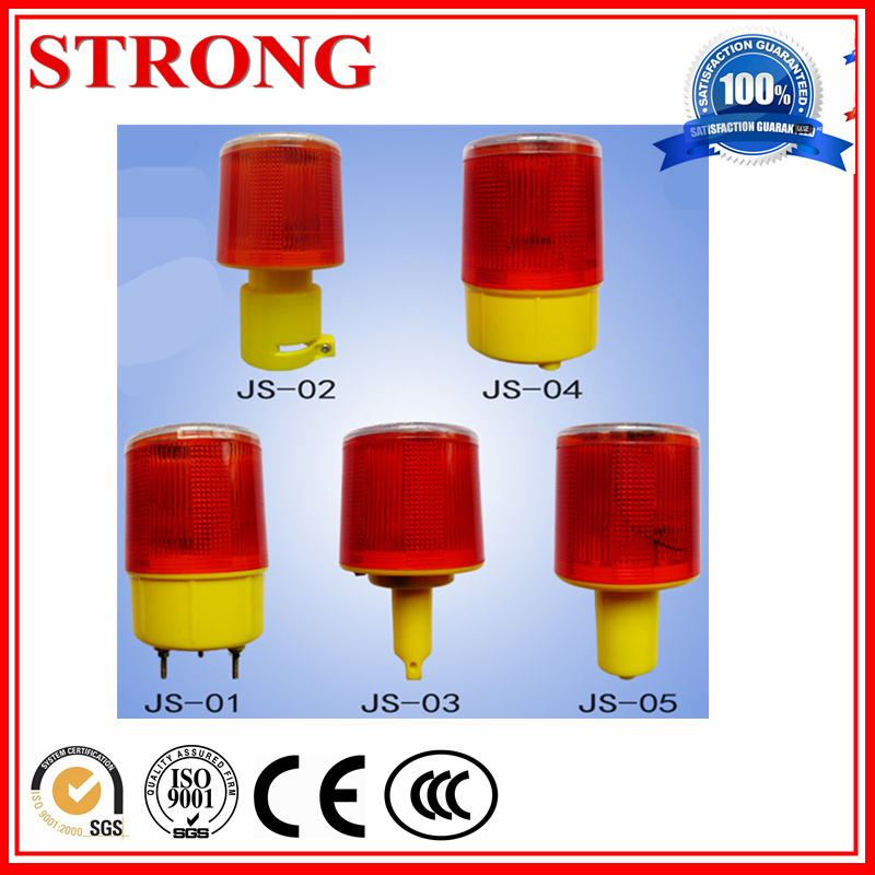 Long Standby LED Auto Flicker and Charge Solar Warning Light