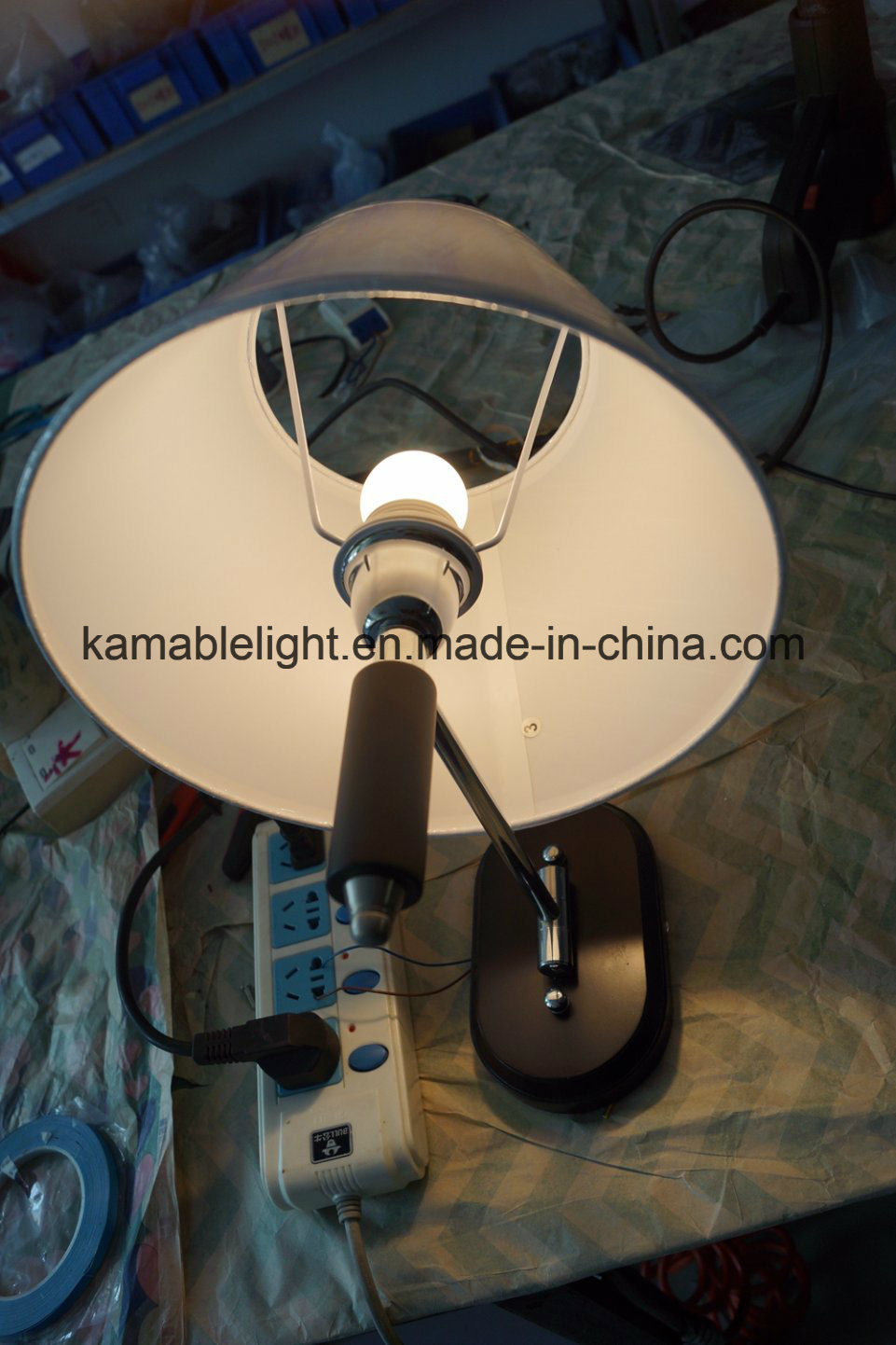Hotel Guest Room Steel Wall Lamp (KAMC1635)