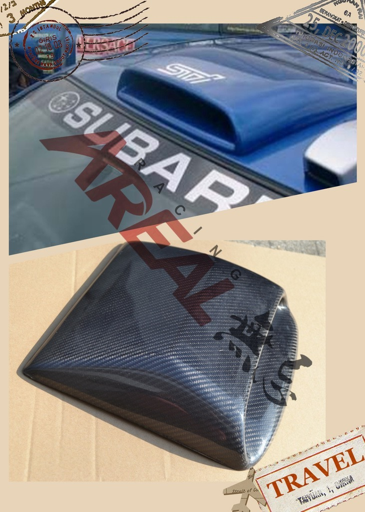 Carbon Fiber Racing Parts for Subaru Impreza Wrx Legacy Forseter Brz Xv