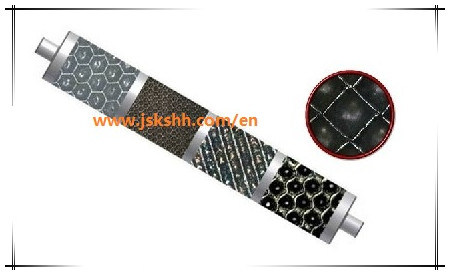 Chrome Plated Anilox Roller for Flexo Printing