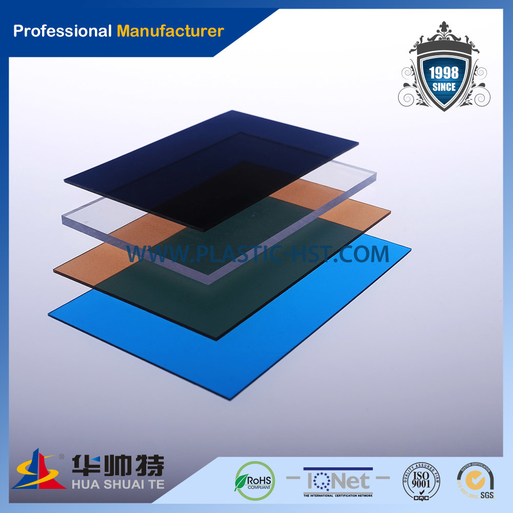 2014 Hot Sale Colorful Popular Polycarbonate Sheet (PC-H3)