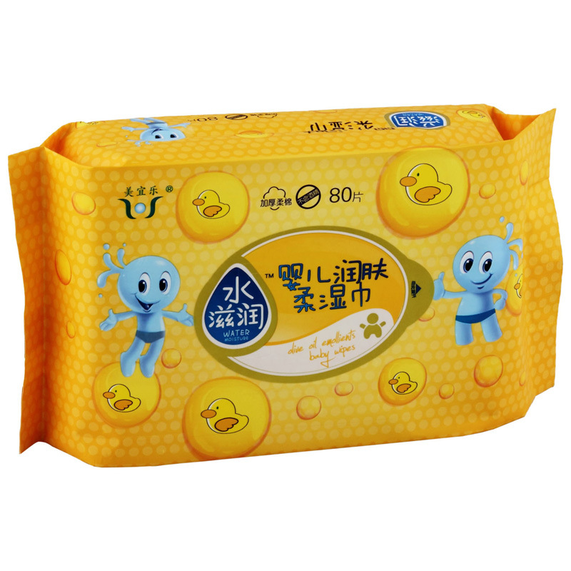 OEM Baby Wipes, Made in China Wet Tissue