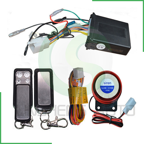 Remote Engine Stop Motorcycle Security System