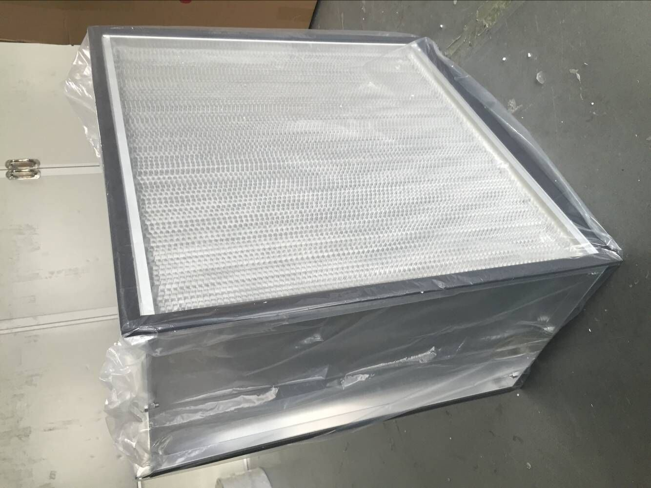Aluminum Frame Pleat HEPA Filter/Panel Filter