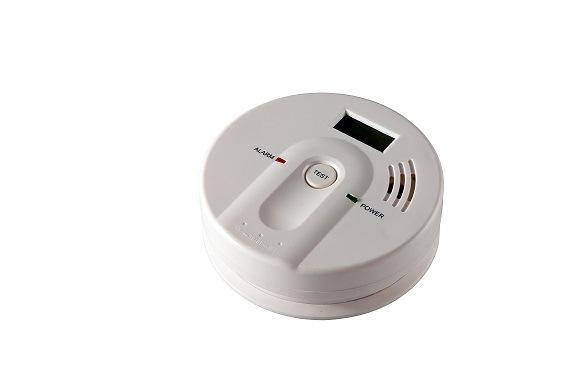 China 9V LCD Carbon Monoxide Alarm for Home