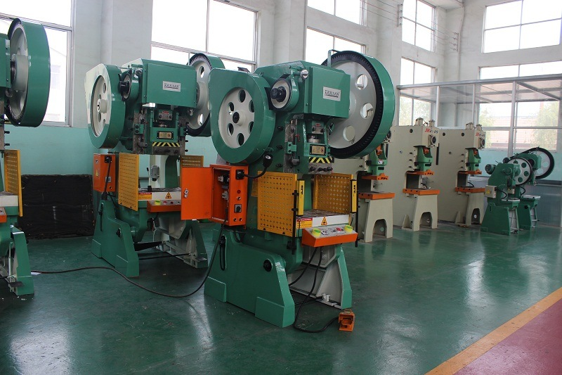J23-63ton Automatic Aluminum Sheet Metal Stamping Machine