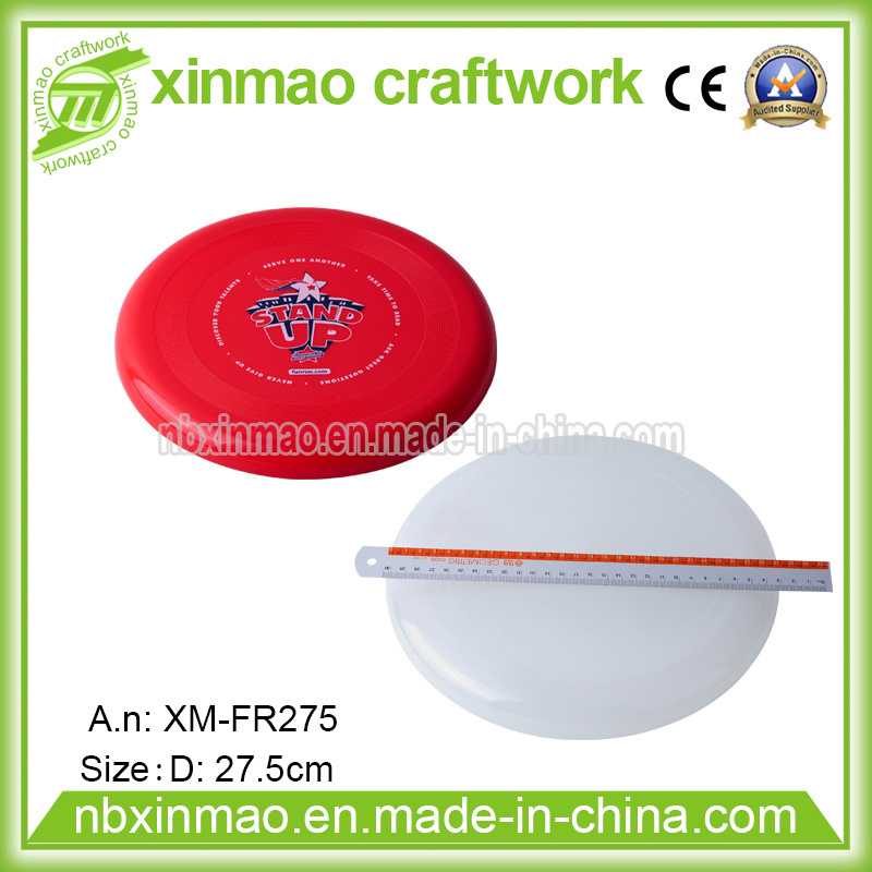 11inch Plastic Frisbee with Full Color Logo for Promo