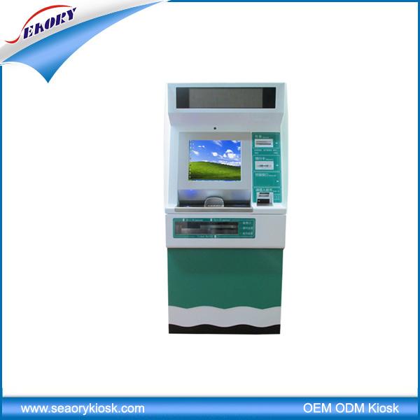 Ticket Vending Kiosk Card Dispenser for Hotel and Government