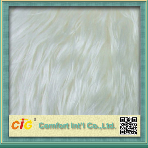 High Quality Colorful 100% Polyester Fake Fur Blanket