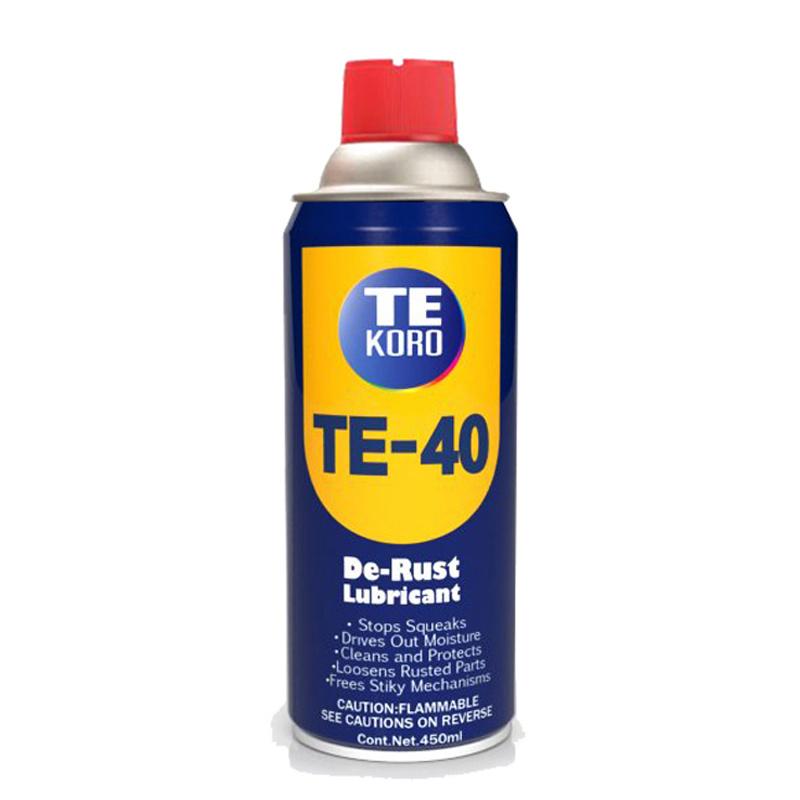 Tekoro Te-40 700ml Aerosol Cans Universal Antirust Lubricating Oil