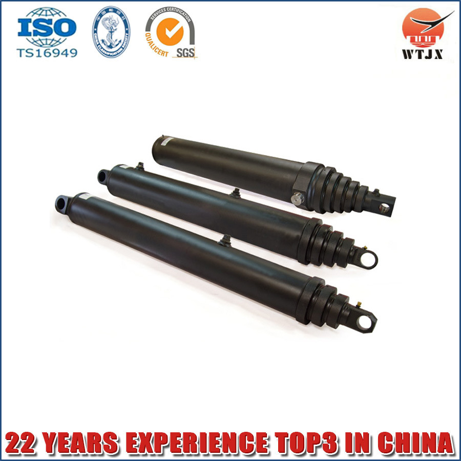 Parker and Hyva Kind Multistage Hydraulic Telescopic Cylinder for Dump Truck